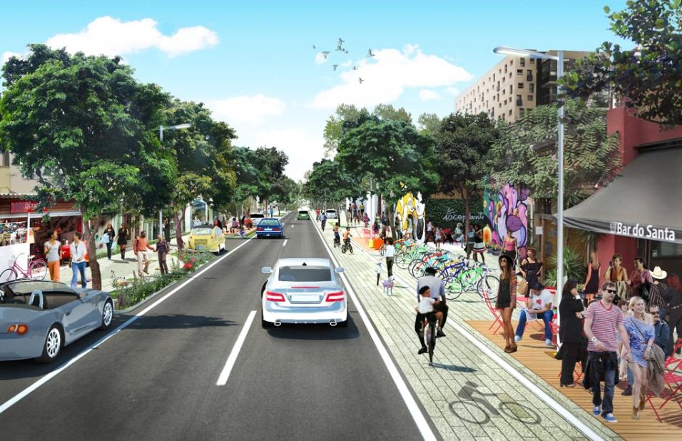 """Categoria Urbanismo - Projetos (menção honrosa): """"Plano de Bairro Vila Madalena"""", criado por Anna Dietzsch"""