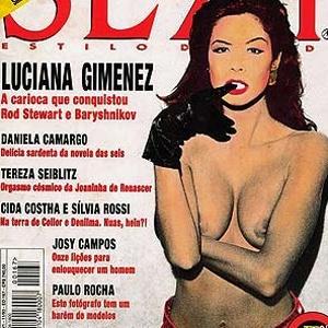 Luciana Gimenez foi capa da