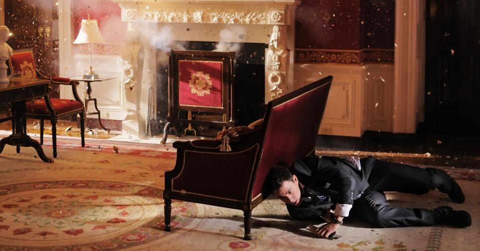 """Channing Tatum interpreta o policial John Cale no longa """"Ataque à Casa Branca"""""""