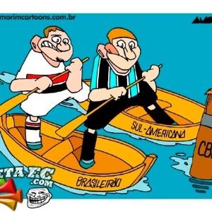 Corneta FC: São Paulo e Grêmio estão no mesmo barco. Resta saber que barco é esse