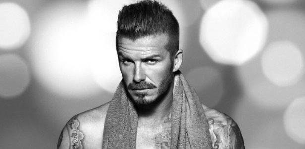 David Beckham em foto de sua nova campanha de roupas íntimas para marca sueca (8/11/12)