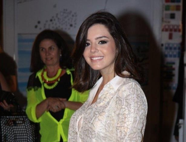 Giovanna Lancellotti prestigia o Fashion Rio, no Píer Mauá (8/11/12)
