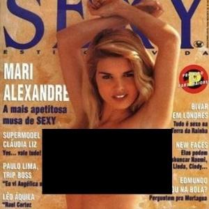 Mari Aleandre Na Capa Da Revista Sey De Outubro