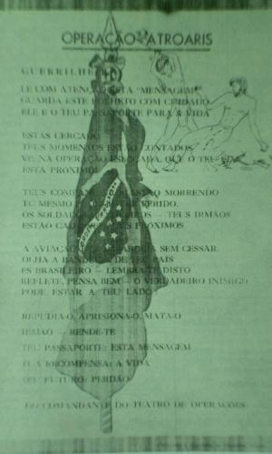 Reprodução/Relatório do Comitê Estadual da Verdade do Amazonas