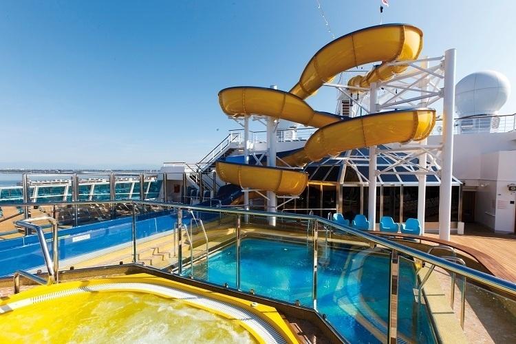 Veja op es de pacotes de cruzeiros para o natal e o ano - Costa luminosa piscine ...