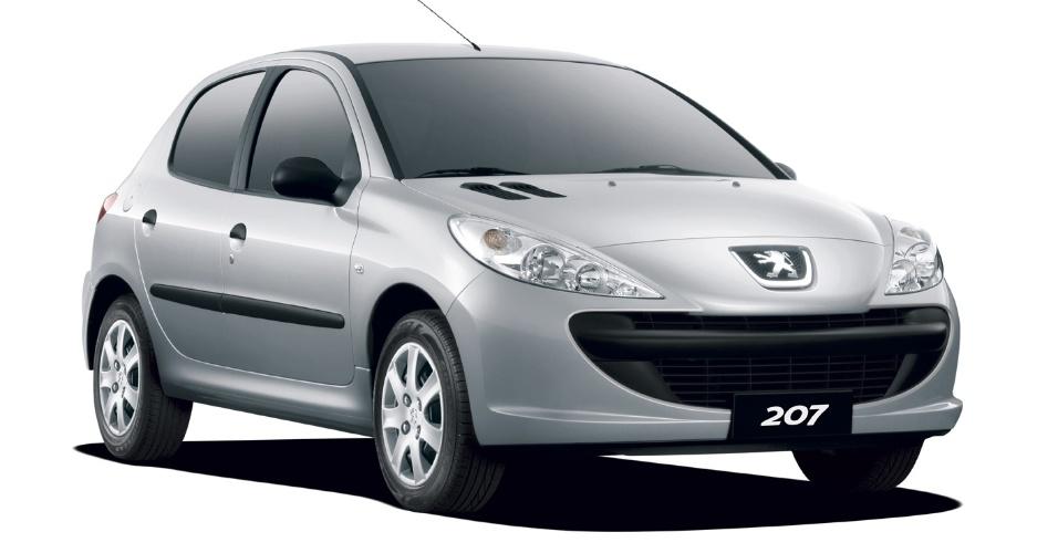 Peugeot 207 Blue Lion 1.4 - Nota A: 7,8/11,6 km/l na cidade; 10/15 km/l na estrada (etanol/gasolina)
