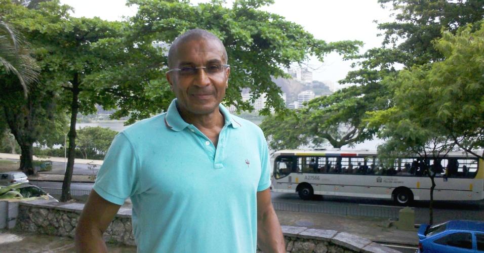 Técnico Cristóvão Borges em sua residência na cidade do Rio de Janeiro (09/11/2012)