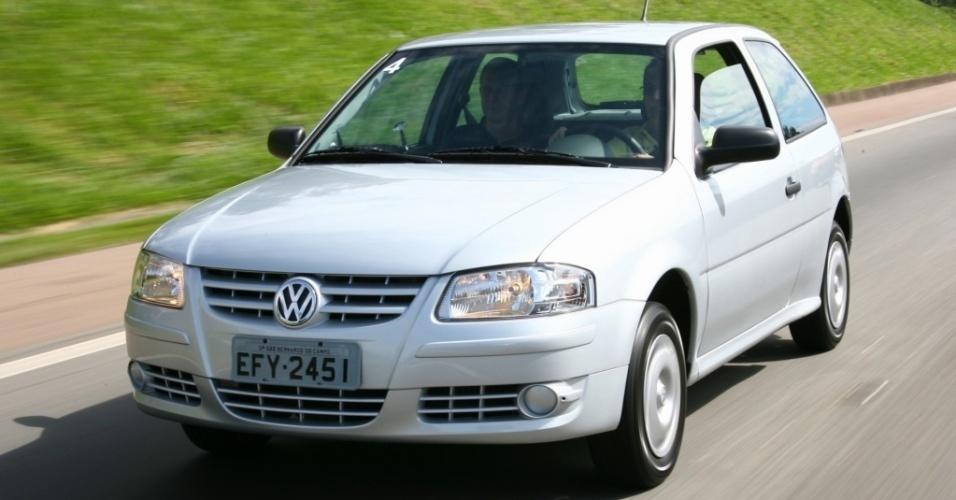 Volkswagen Gol G4 Ecomotion 1.0 - Nota A: 8,4/12 km/l na cidade; 9,8/14,1 km/l na estrada (etanol/gasolina)