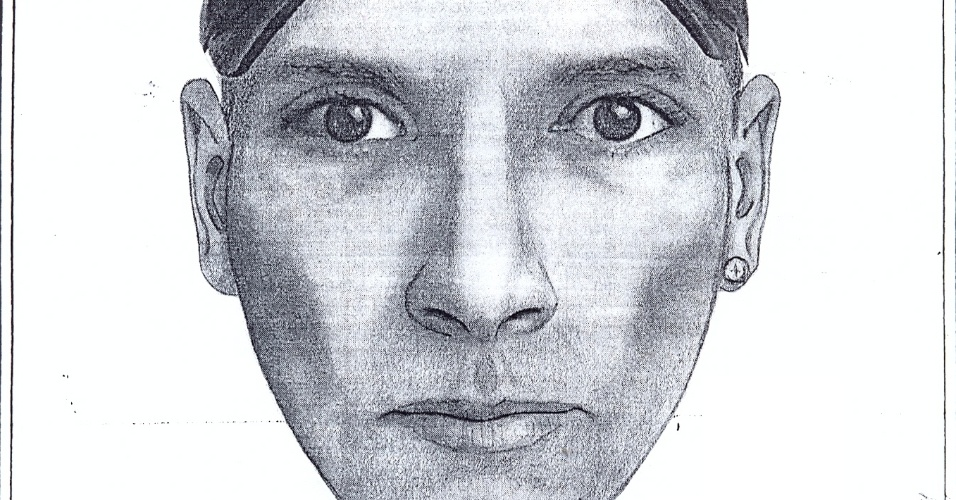 10.nov.2012 - A Polícia Civil divulgou nesta quinta-feira (9) o retrato falado do homem acusado de estuprar jovem em hotel em Ipanema