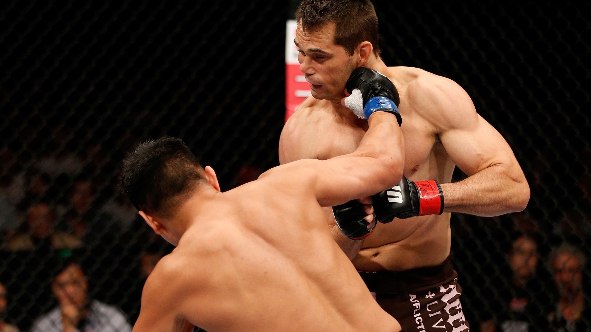 Cung Le acerta timo soco e nocauteia Rich Franklin no UFC da China, em Macau