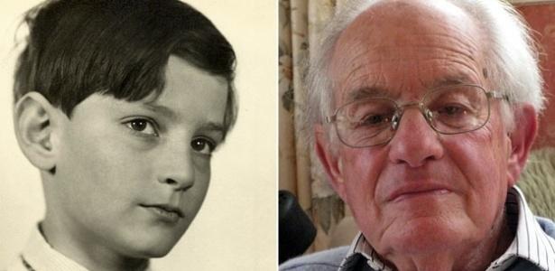 Historiador Edgar Feuchtwanger, judeu alemão que relatou à BBC como foi passar uma parte de sua infância como vizinho do líder nazista Adolf Hitler