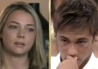 bronca do pai: Neymar chora na 1ª aparição da mãe de seu filho na TV