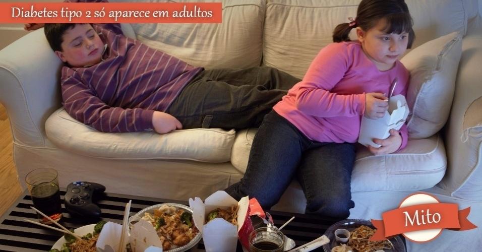 crianças comendo fast food - mito ou verdade