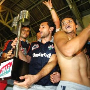 Fred e a festa do Fluminense; no ano que vem, o Fox Sports pode transmitir o Campeonato Brasileiro