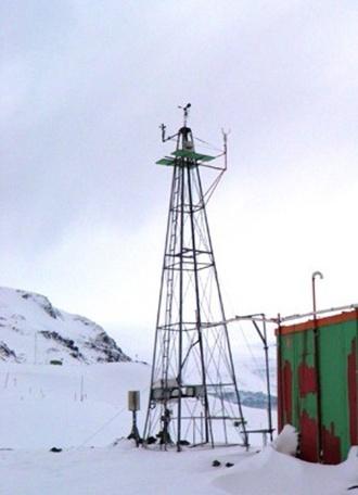 Inpe (Instituto Nacional de Pesquisas Espaciais) recupera dados captados por torre meteorológica da Antártida