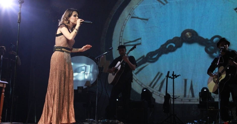 Sandy encerra turnê do álbum