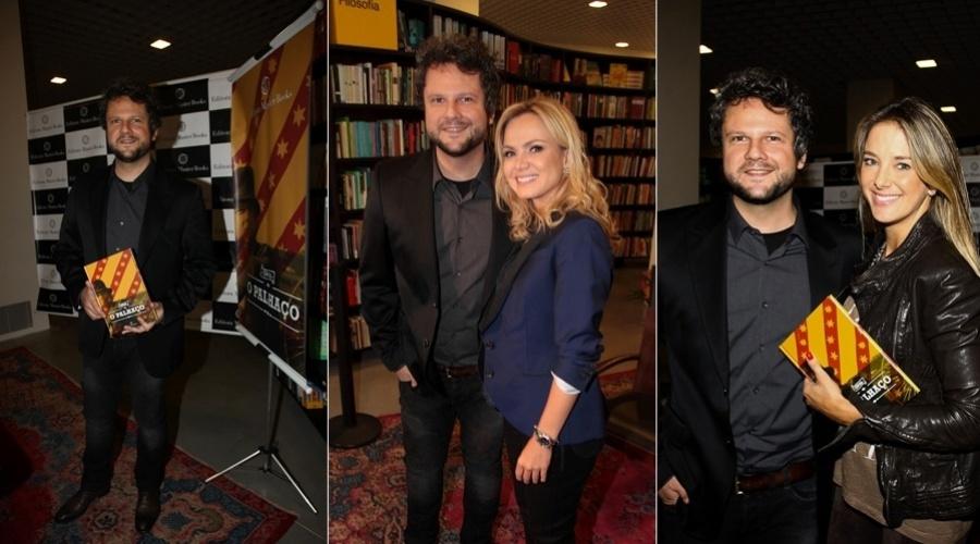 """Selton Mello prestigiou nesta segunda o lançamento do livro """"O Palhaço"""" (12/11/12)"""