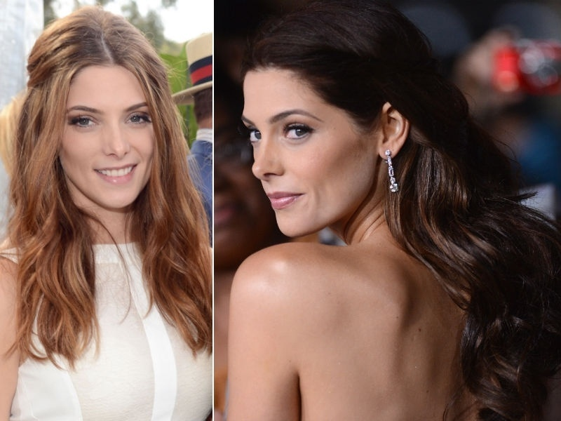 Ashley Greene ruiva morena