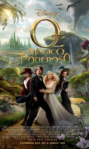 """Mila Kunis, James Franco, Michelle Williams e Rachel Weisz estampam pôster de """"Oz: Mágico e Poderoso"""" (13/11/12)"""