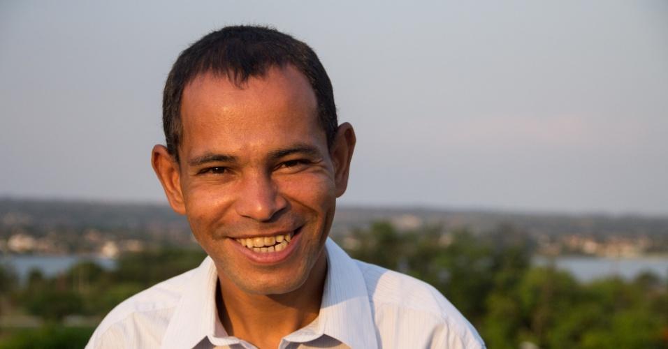 O ex-morador Sérgio Reis Ferreira se formou em pedagogia pela UnB
