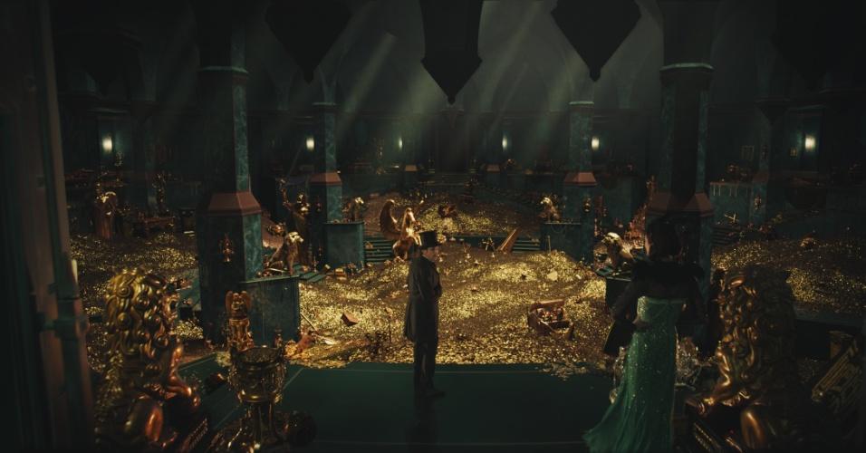"""Cena de """"Oz: Mágico e Poderoso"""", de Sam Raimi"""