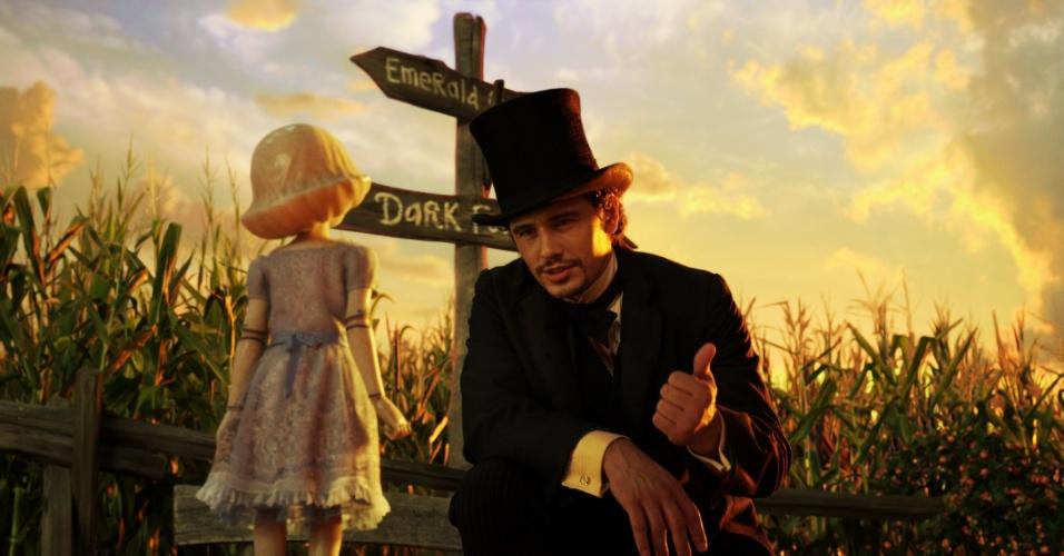 """James Fraco em cena de """"Oz: Mágico e Poderoso"""", de Sam Raimi"""