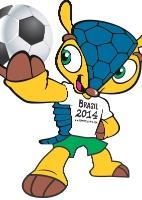 copa do mundo-2014: Mascote da Copa do Mundo recebe nome de 'Fuleco'