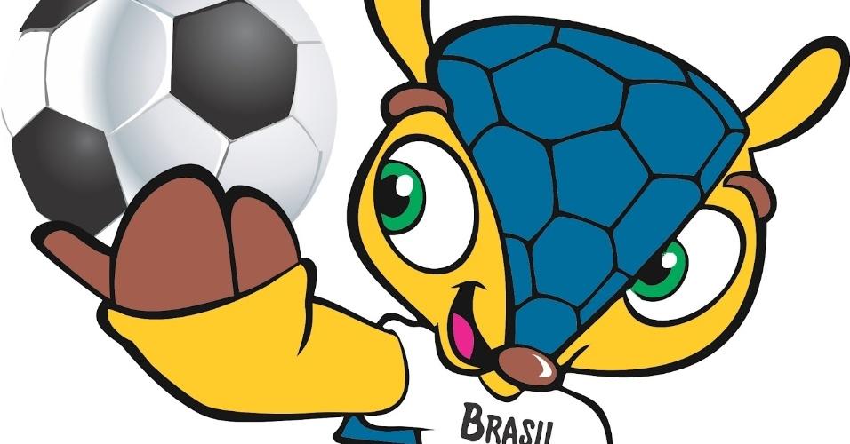 Tatu-bola, mascote da Copa