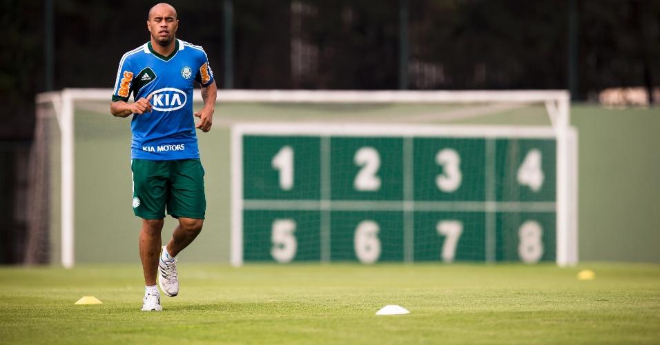 Thiago Heleno, zagueiro do Palmeiras