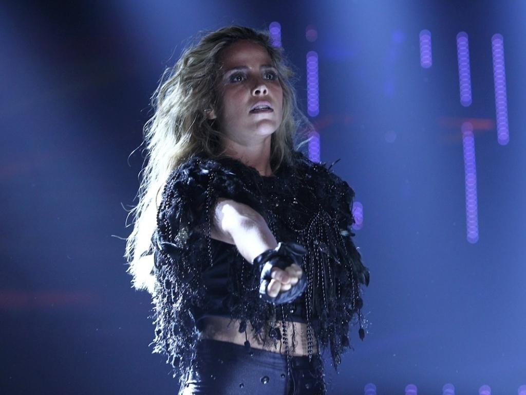 A cantora Wanessa gravou seu segundo DVD de carreira na noite deste sábado no palco do HSBC Brasil, Em São Paulo. Wanessa apresentou novas canções e sucessos como