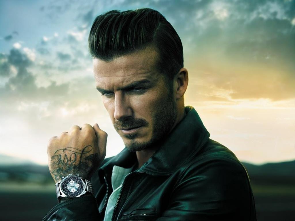 David Beckham posa para a nova campanha da marca de relógios Breitling (novembro/2012)