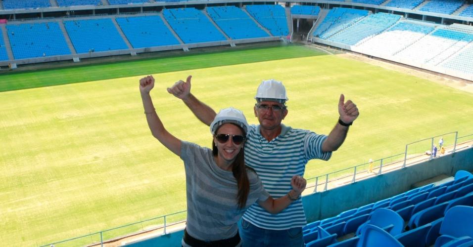 Torcedores retiram primeiros ingressos para inauguração da Arena do Grêmio