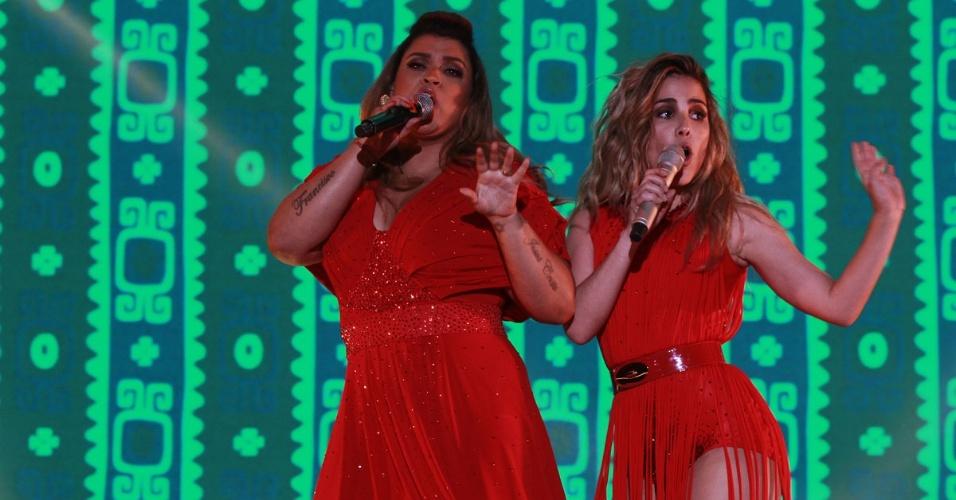 """A cantora Wanessa canta com Preta Gil na gravação do seu segundo DVD de carreira na noite deste sábado no palco do HSBC Brasil, Em São Paulo. Wanessa apresentou novas canções e sucessos como """"Falling for You"""", """"Worth It"""", """"Stuck on Repeat"""", """"Sticky Dough"""", """"Fly"""" e """"Get Loud"""" (15/11/12)"""