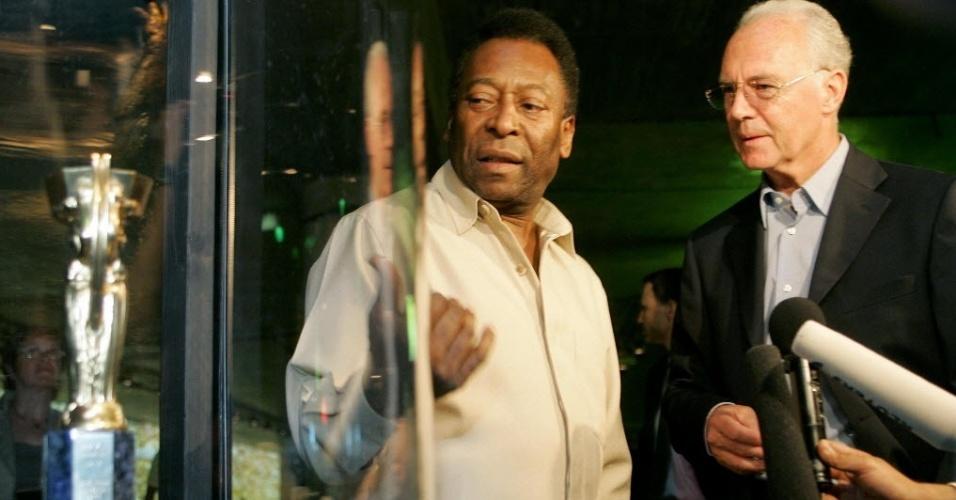 Pelé e Beckenbauer são os consultores especiais do Comitê de Futebol da Fifa.