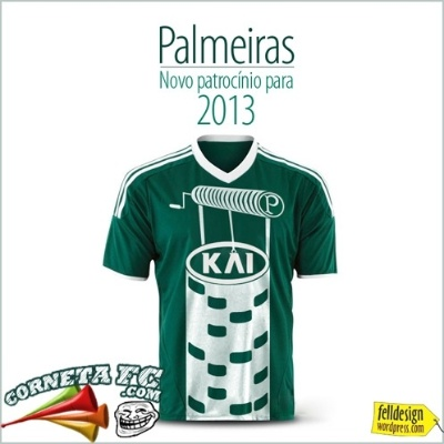 Após queda, Palmeiras apresenta novo patrocinador