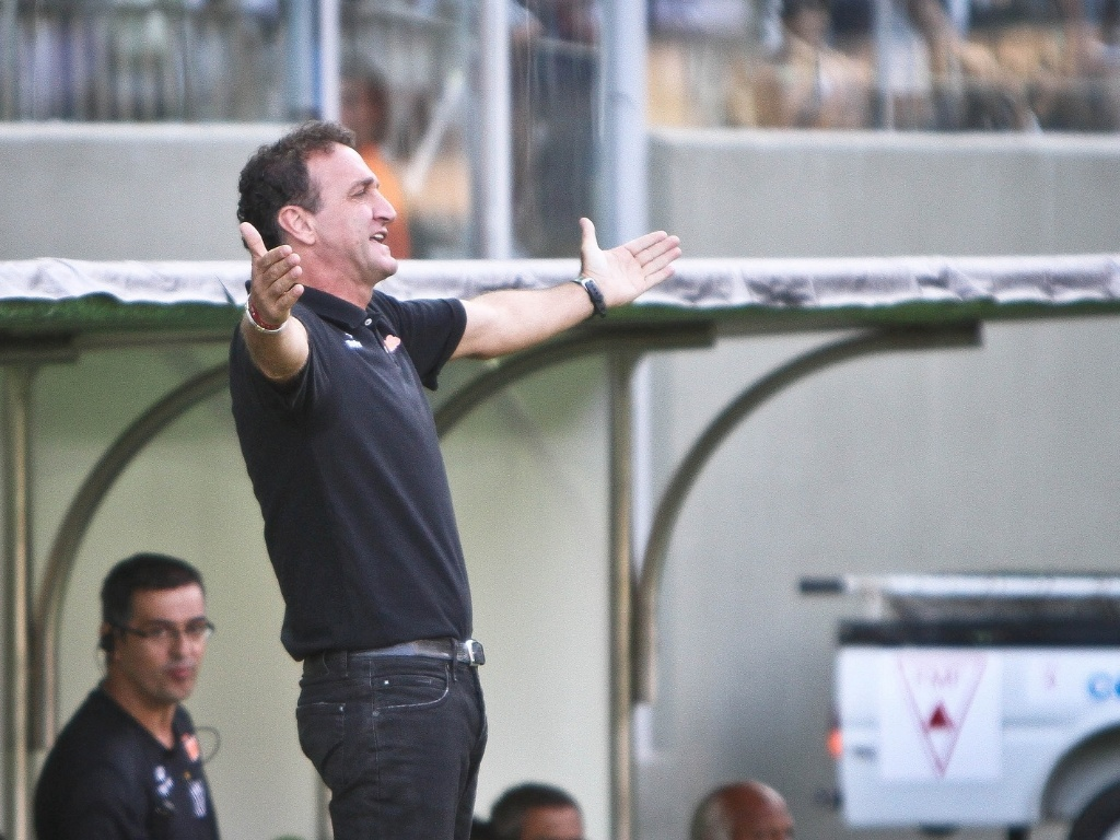 Cuca, técnico do Atlético-MG, durante o jogo com o Atlético-GO (18/11/2012)