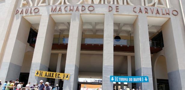 Estádio paulista está na lista de Campos Oficiais de Treinamento para a competição