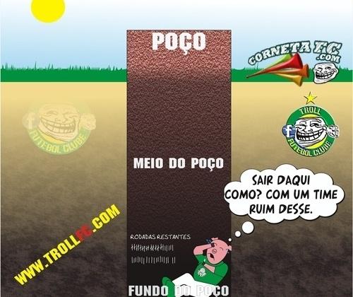 Palmeiras chega ao fundo do poço