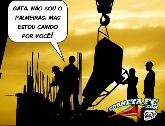 Queda do Palmeiras vira até