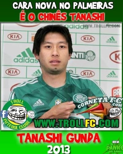 Reforço do Palmeiras para 2013