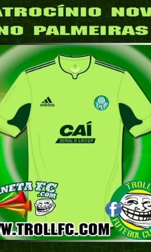 Corneta FC: Queda do Palmeiras para série B atrai novos patrocinadores