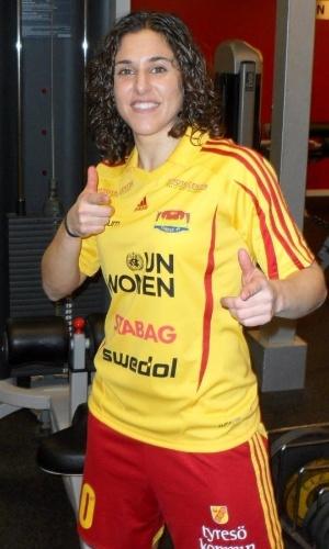 Verónica Boquete foi campeã pelo Tyresö, da Suécia