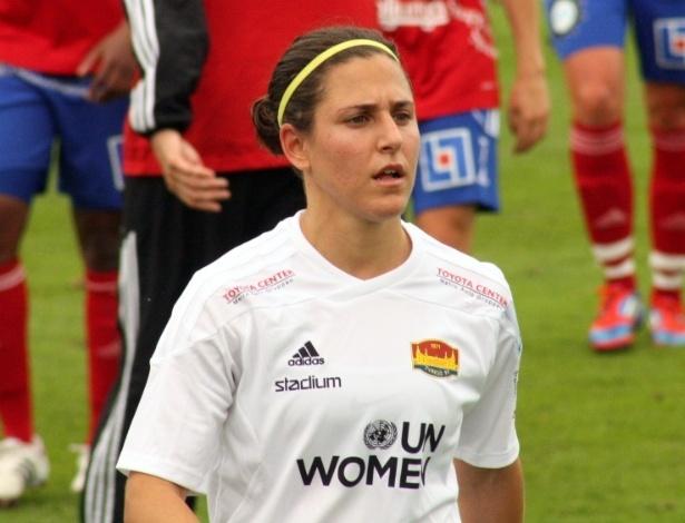 Verónica Boquete jogou em times dos Estados Unidos e da Rússia antes de chegar ao Tyresö, da Suécia