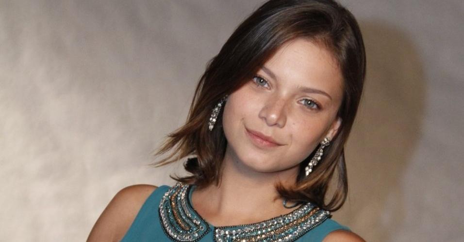 A atriz Milena Toscano participa de evento da Globo com show de Roberto Carlos (21/11/12)