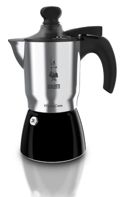 A cafeteira italiana Moka, criada pela marca Bialetti, tem o modelo Mokacream que prepara o café cremoso como um expresso. O manuseio de uma alavanca, na tampa do produto, produz a cremosidade na bebida. A peça, com capacidade para três xícaras, é vendida por R$ 215 na Imeltron (www.imeltron.com.br) I Preços pesquisados em novembro de 2012 e sujeitos a alterações