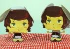 Fa�a a boneca 3D de Dessa, a torta holandesa cantora de Foodland