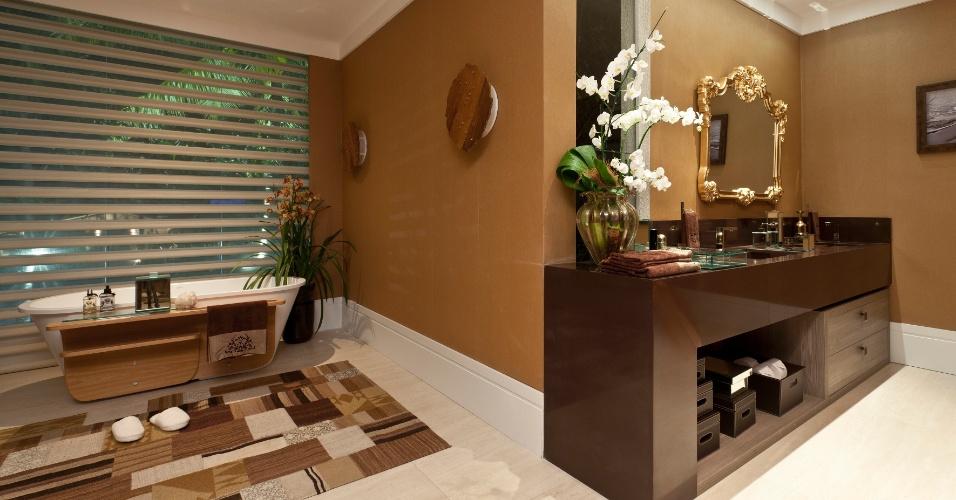 Categoria Mostra, prêmio Regional - Centro-Oeste, Norte e Nordeste (Aracaju): banheiro criado por Aramari Tude e Barroso Melo. O prêmio
