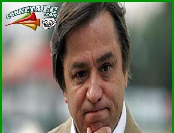 Corneta FC: Presidente do Palmeiras prorroga férias por tempo indeterminado
