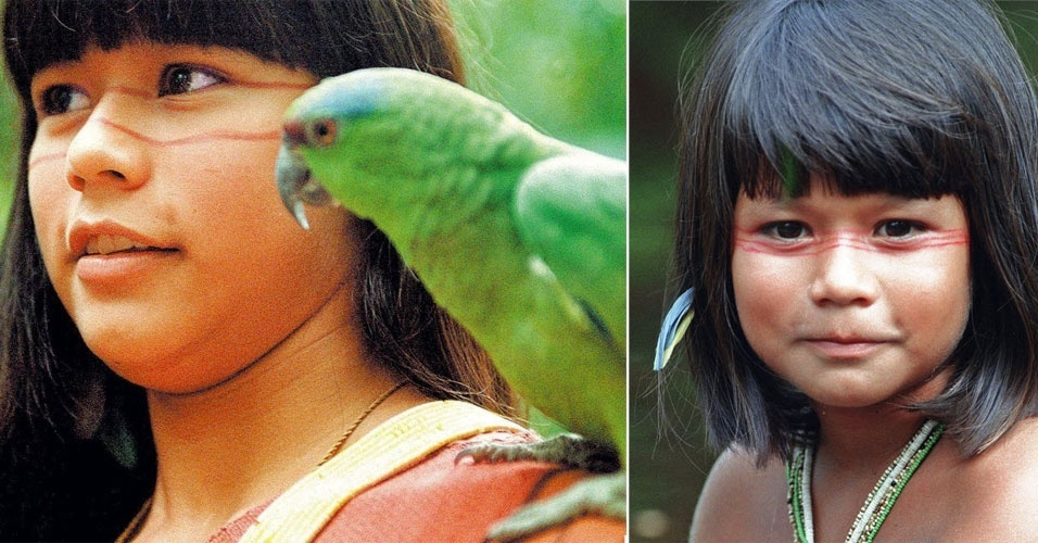 """Eunice Baía interpretou a personagem principal do filme """"Tainá - Uma Aventura na Amazônia"""""""