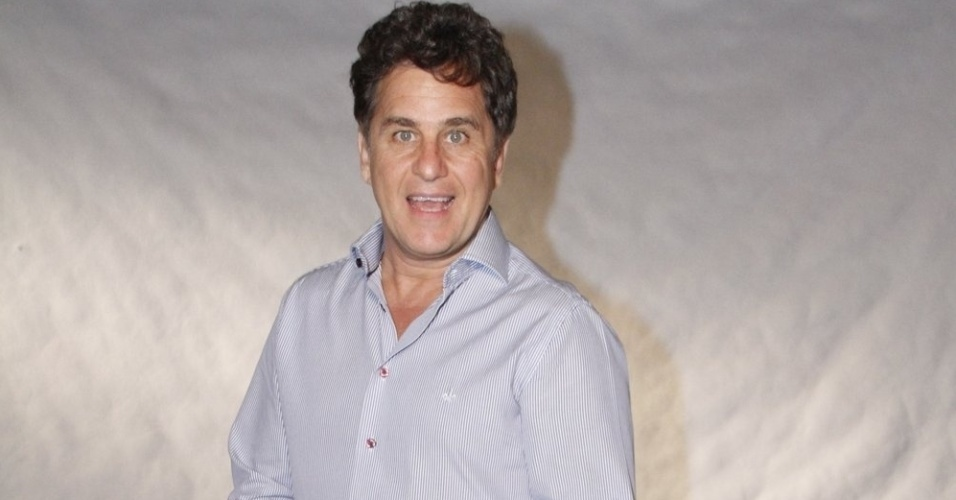 O ator Marcos Frota participa do especial de fim de ano da Globo, no Rio de Janeiro (21/11/12)
